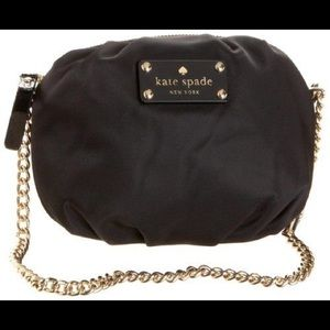 Kate Spade Greta Crossbody in Black Nylon